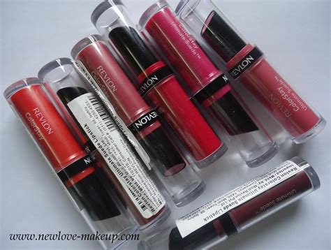 Mac 384 Color Stay Lipstick Soft Smooth revlon colorstay ultimate suede lipsticks review swatches new makeup