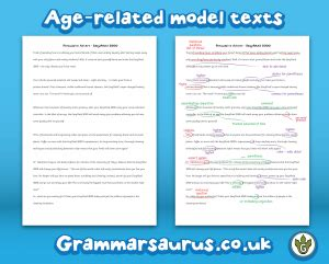 biography text year 6 new year 6 instructions model text annotated and blank