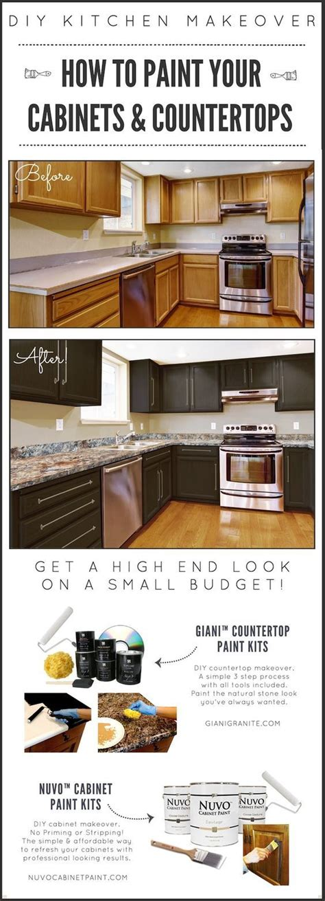 kitchen cabinet makeover kit 10 diy easy and little project for your kitchen 9