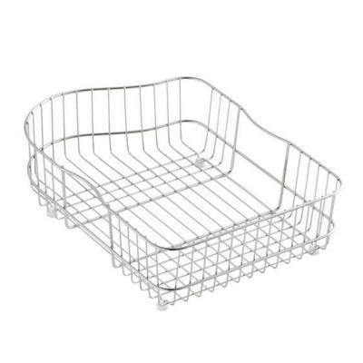 kohler hartland sink rack kohler hartland wire rinse basket for left hand basin