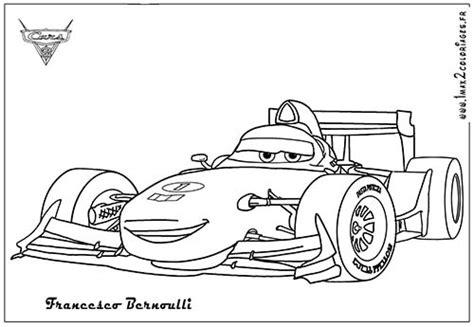 coloring sheets for cars 2 coloriage disney cars 2 francesco bernoulli