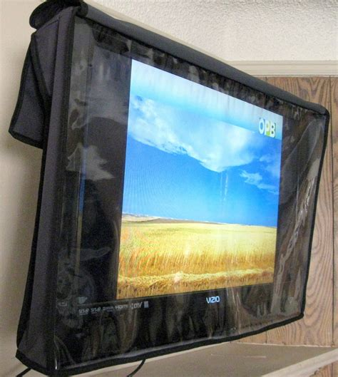 tv coverups tvkini invisible 33 quot 42 quot outdoor flat screen tv covers