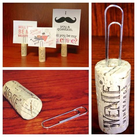 cork place card holders diy diy re purpose wine corks into place card holders diy