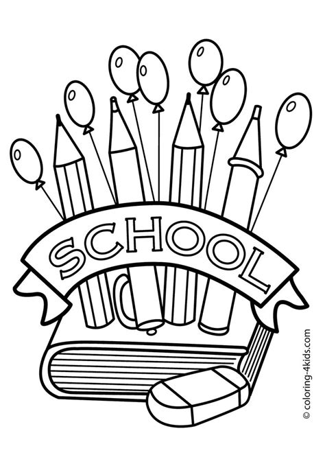 preschool coloring pages school best 25 school coloring pages ideas on pinterest sunday