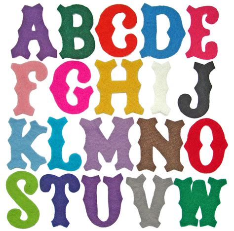 Letter Alphabet make your own bunting letters small size by handmade by