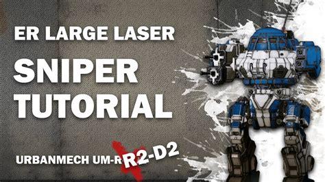 tutorial mechwarrior online mechwarrior online tutorial er large laser sniper