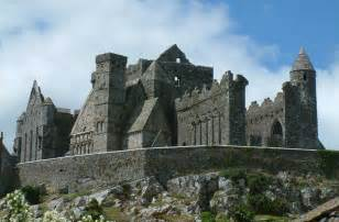 The word cashel is derived from a gaelic word meaning fortress