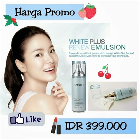 Harga Laneige Renew korean harga promo laneige white plus renew