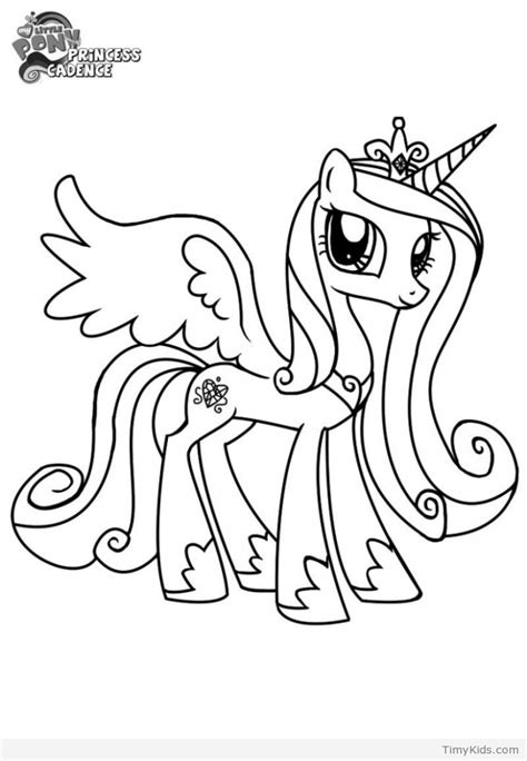 coloring page my little pony princess 35 my little pony coloring pages timykids