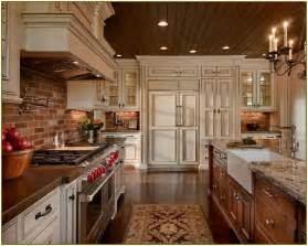 brick backsplashes for kitchens best 25 kitchen brick ideas on