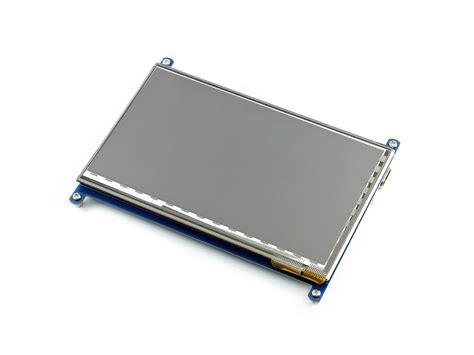 Raspberry Pi 7 Inchi Ips Lcd Capacitive Touchscreen Waveshare waveshare 7 inch hdmi lcd 1024 215 600 mit ips kapazitivem
