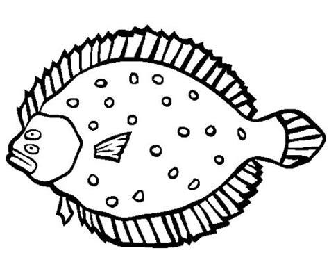 coloring pages flatfish stem lance