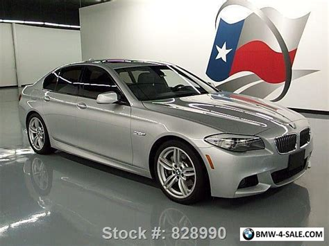2013 Bmw 535i by 2013 Bmw 5 Series 535i M Sport Technology Sunroof Nav Hud