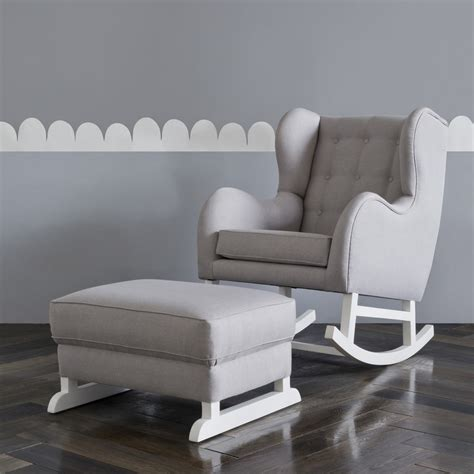 Grey And White Chair Our Hunt For The Best Nursing Chair Feeding Chairs And