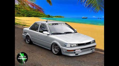 modified toyota corolla 1990 virtual tuning toyota corolla sedan by mailo 2013 hd