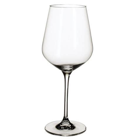 bicchieri villeroy boch set 6 calici villeroy boch la divina burgundy