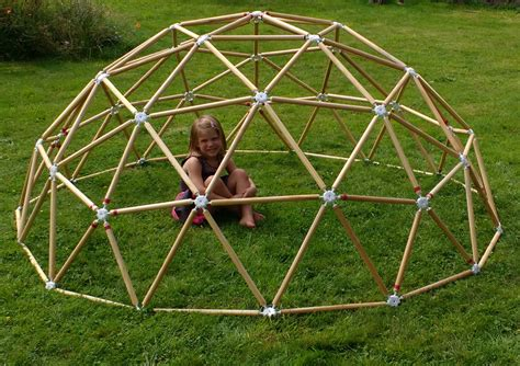 geodesic dome weekend project hubs geodesic dome kits now ready to buy
