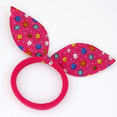Bando Bowknot Decorated Flower Pattern Design 6 sweet plum flower pattern decorated bowknot shape