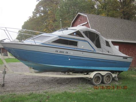 nordic whaler boat 1989 crestliner sabre powerboat for sale in ohio