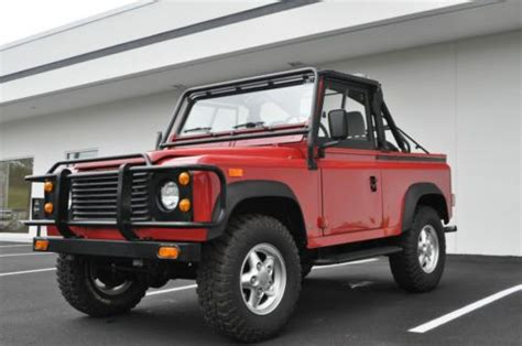 manual repair autos 1994 land rover defender 90 on board diagnostic system buy used 1994 land rover defender 90 in lynchburg virginia united states