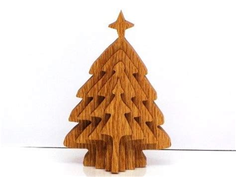 diy 3d wooden christmas tree pattern plans free
