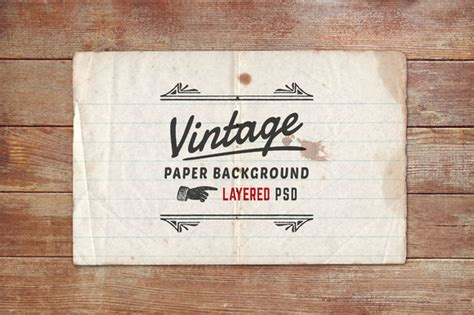 vintage recipe card psd template vintage paper background layered psd logo templates on