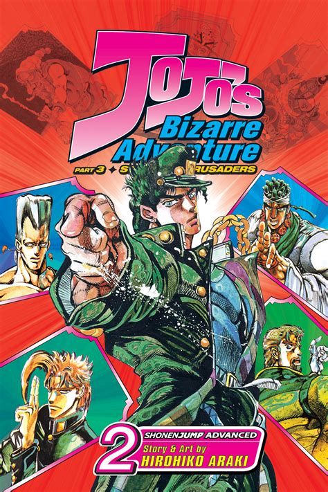 libro jojos bizarre adv stardust dec138139 jojos bizarre adv stardust crusaders gn vol 02 previews world