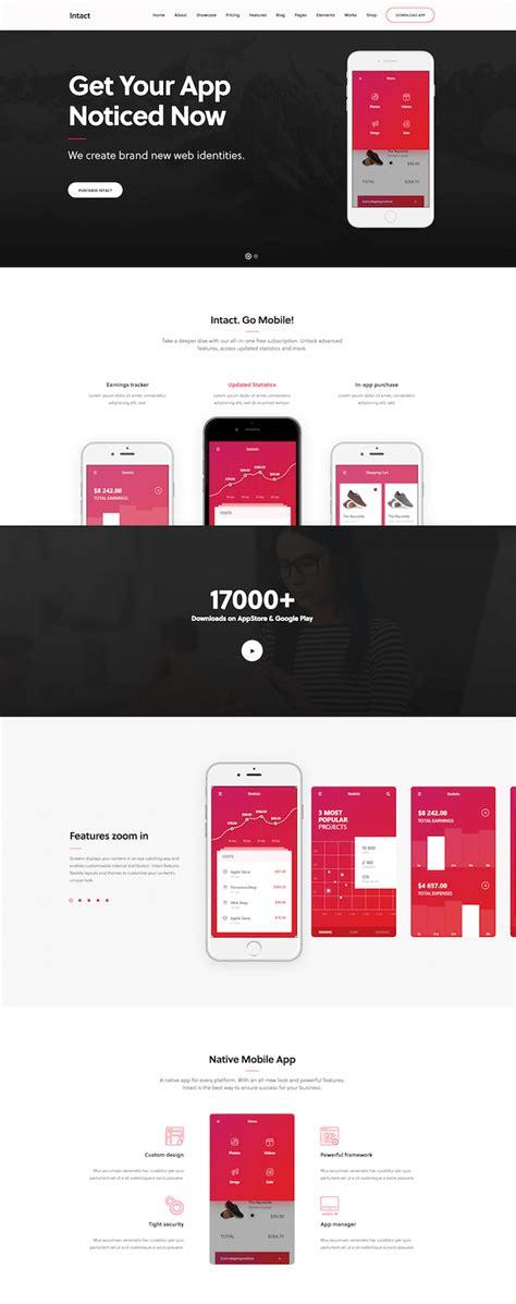 app showcase themes 25 best app showcase wordpress themes for 2018