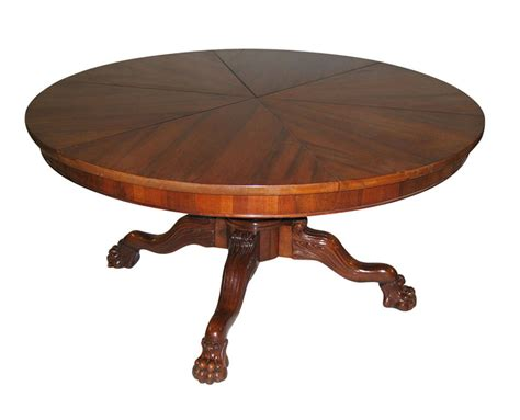 Circular Expanding Table by Dining Table Expanding Circular Dining Table