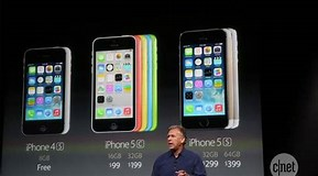 Image result for iPhone 5c vs 5s Specs. Size: 289 x 160. Source: www.cnet.com