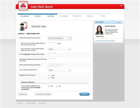 Insurance Company: Auto Insurance Declaration Page State Farm