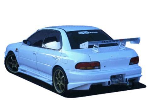 rearbumper for subaru impreza 1994 1998 avb sports car tuning spare parts