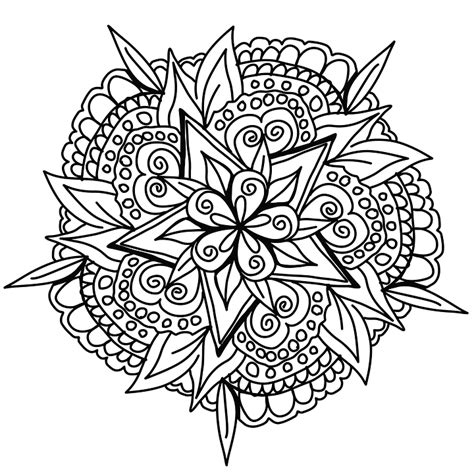 coloring pages of mandala designs drawing mandala design 183 free image on pixabay