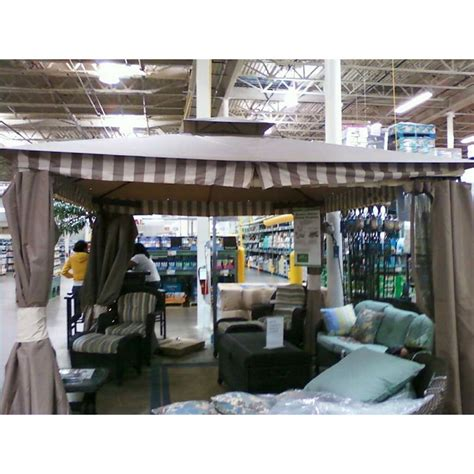 living home gazebo bjs 2010 living home elworth 10 x 12 replacement canopy