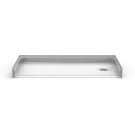 60x30 Shower Base by Barrier Free 60 Quot X 30 Quot Shower Pan Beveled Threshold 1 3