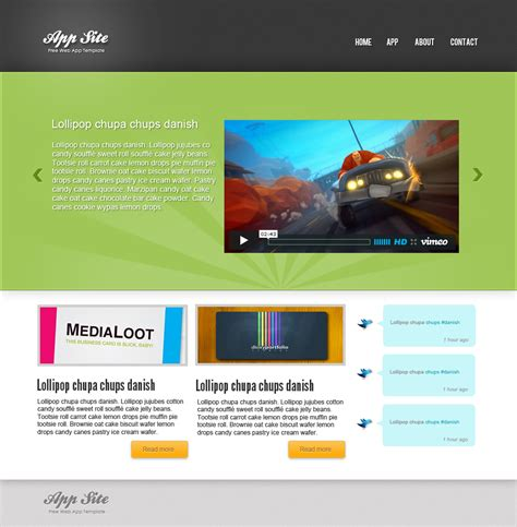 layout site app how to create a app website in photoshop sanjay