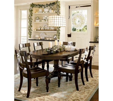 pottery barn dining room sets dining room designs