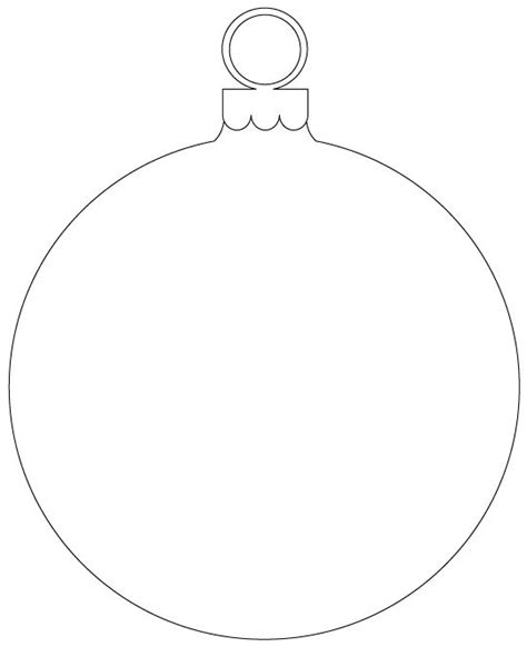 printable christmas decoration templates round ornaments with 3 different printable ornaments