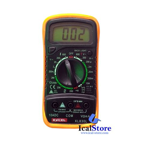 Termometer Digital Ac multimeter multitester digital xl 830 ical store