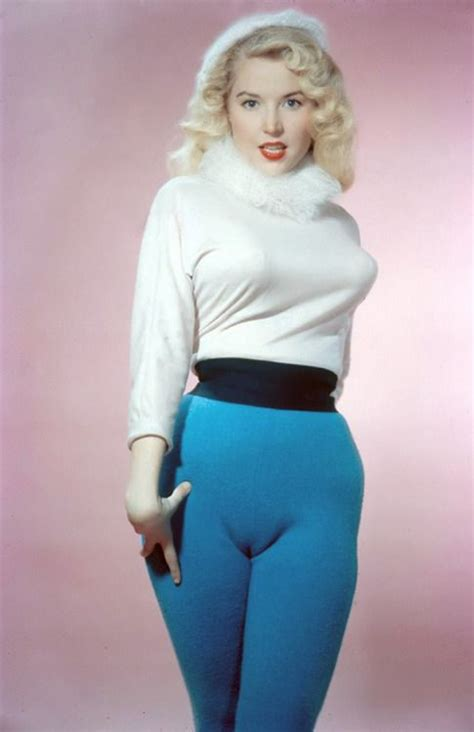 Camel Toeing | vintage photo of betty brosmer in her heyday betty had