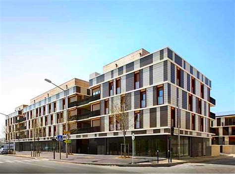 housing project design gelin lafon architects affordable mixed use housing project is a little social utopia