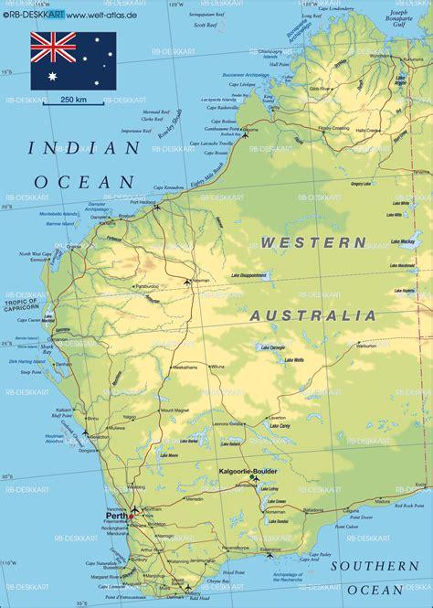 map western australia western australia map western australia state map of