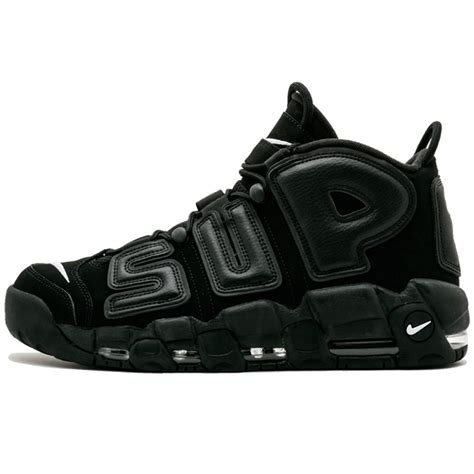 supreme nike air supreme x nike air more uptempo quot black quot