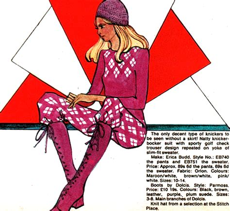 Bromley Step Janes by Sweet Knickerbocker Jackie Magazine 1970