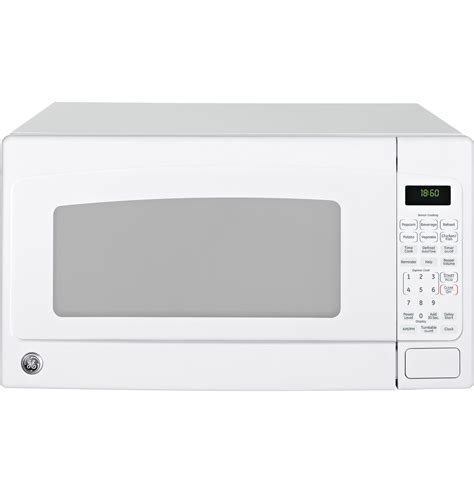 Ge Monogram Countertop Microwave by Jeb1860dmww Ge 174 1 8 Cu Ft Countertop Microwave Oven