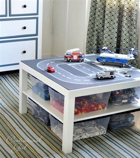 lego play table diy diy projects featuring the ikea lack table