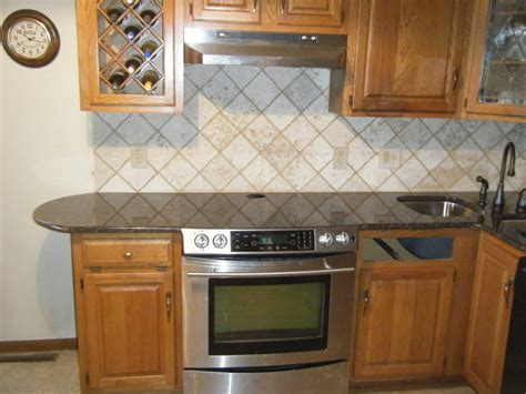 wallpaper kitchen backsplash ideas wallpaper backsplash idea for a kitchen