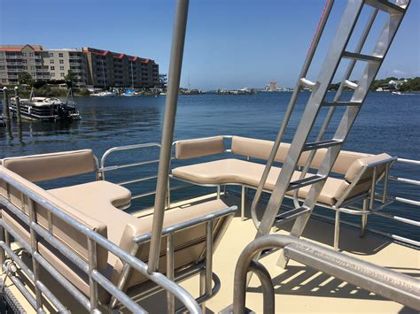 destin pontoon rentals destin pontoon rentals