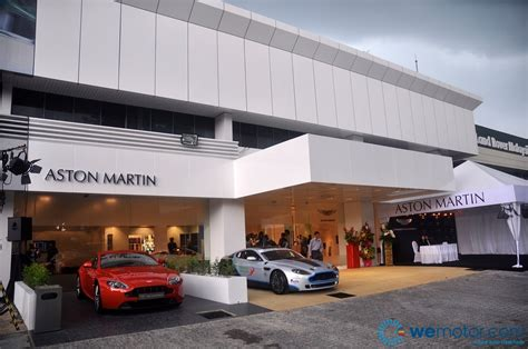 aston martin showroom aston martin opens showroom in malaysia wemotor com