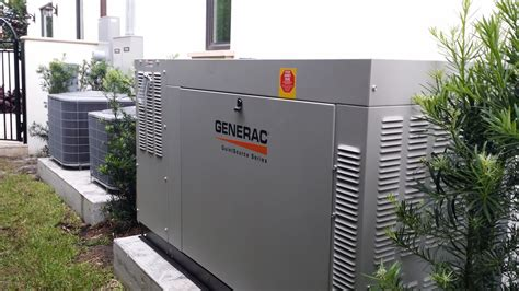 whole home standby generator installation in boca raton